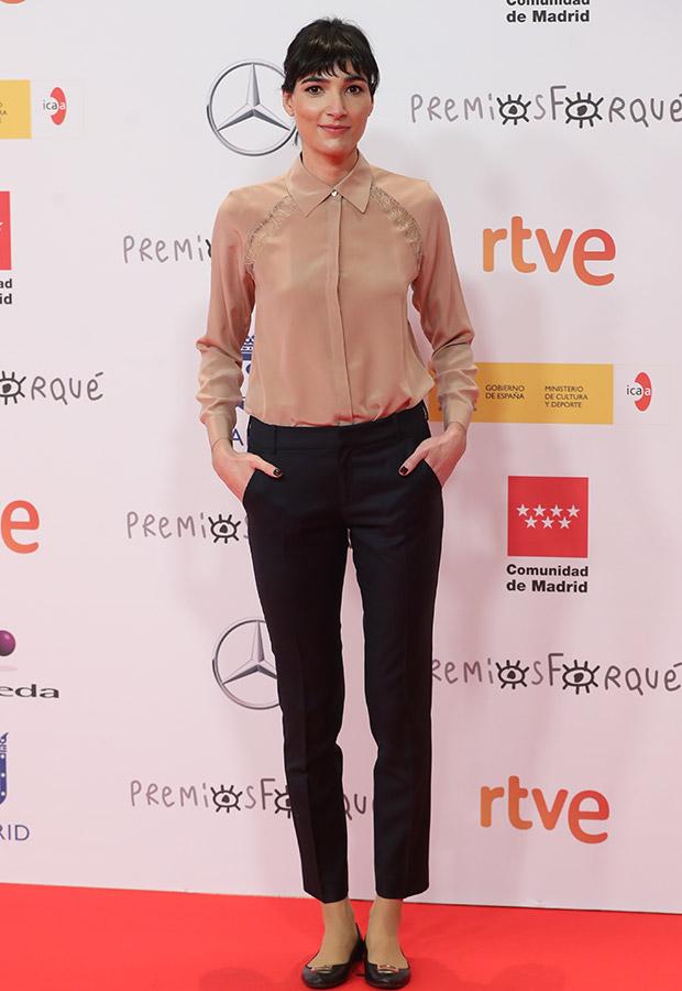 Isabel Peña en los Premios Forqué 2021