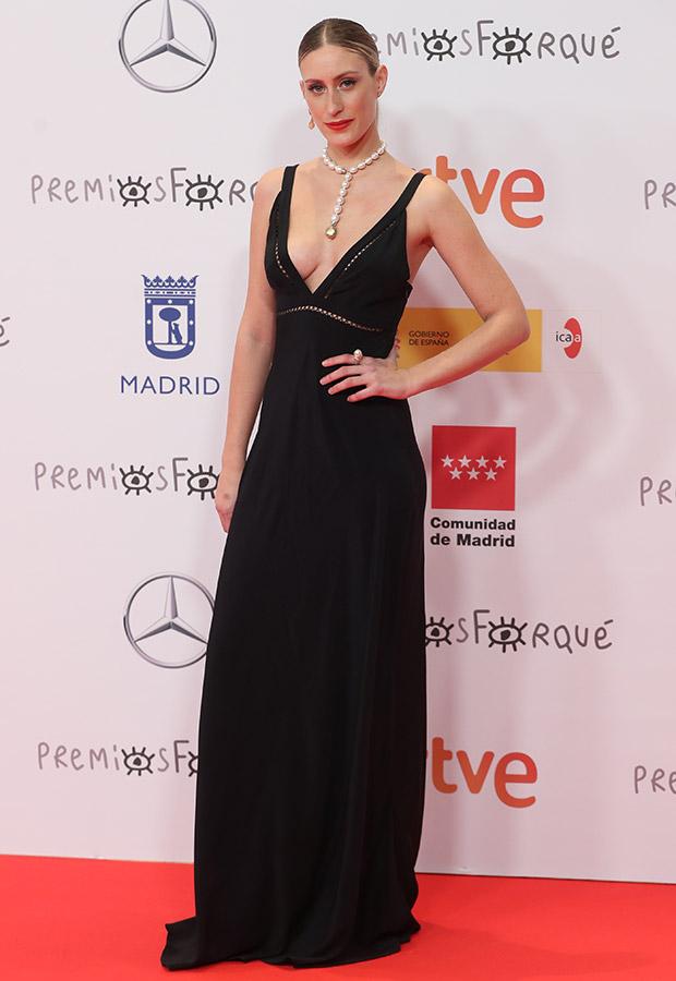 Teresa Riott en los Premios Forqué 2021
