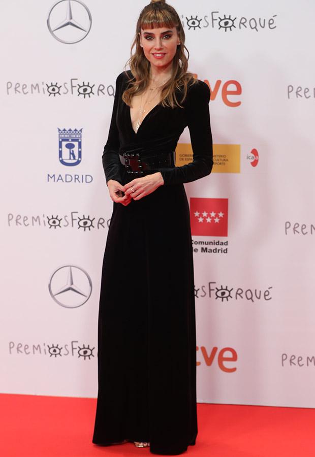 Irene Arcos en los Premios Forqué 2021