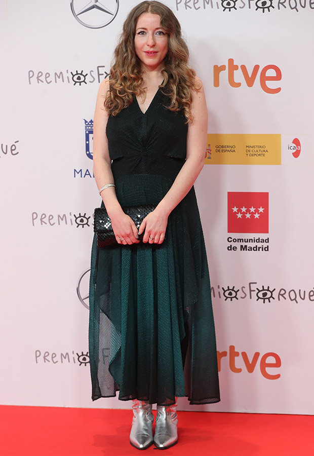Pilar Palomero en los Premios Forqué 2021