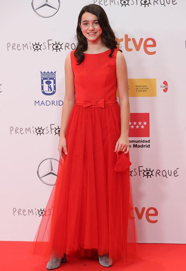 Andrea Fandos en los Premios Forqué 2021