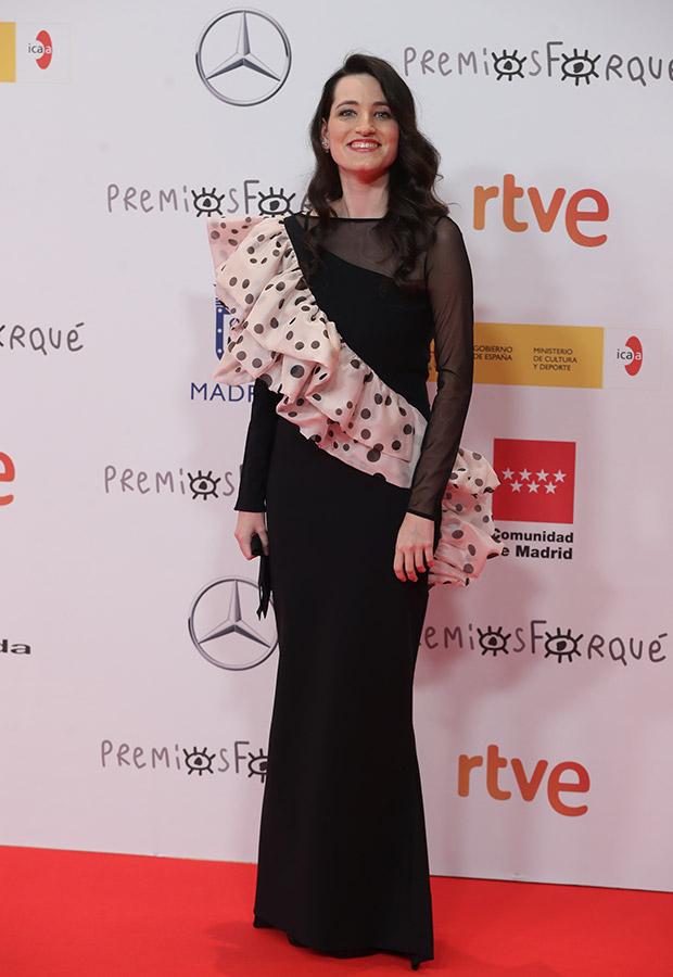 Ines Alba en los Premios Forqué 2021