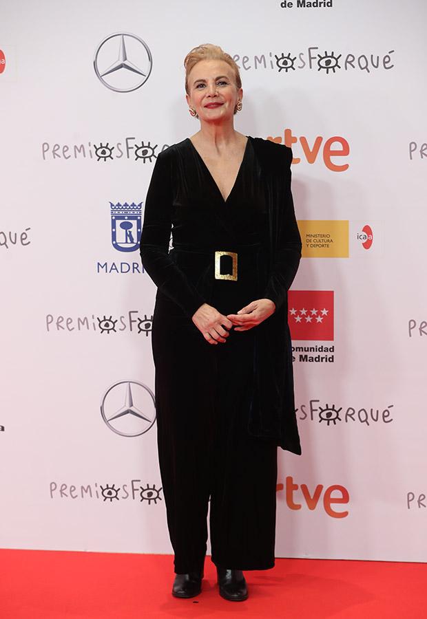 Elena Irureta en los Premios Forqué 2021