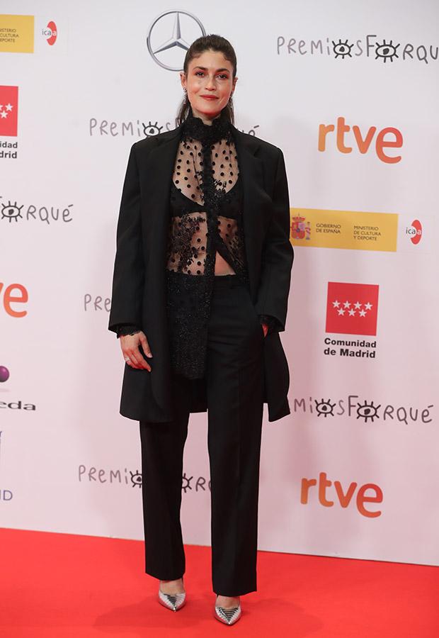 Nerea Barros en los Premios Forqué 2021