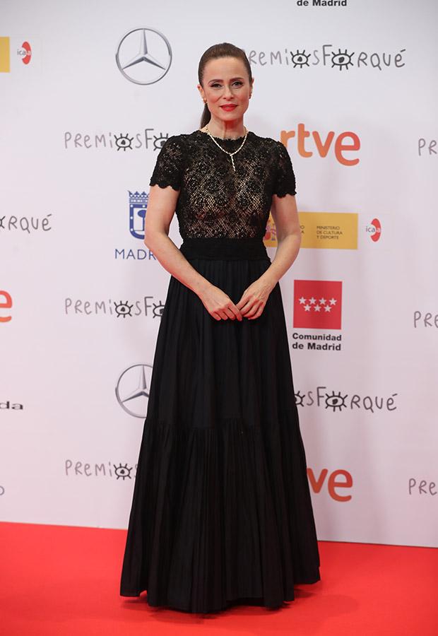 Aitana Sanchez Gijon en los Premios Forqué 2021
