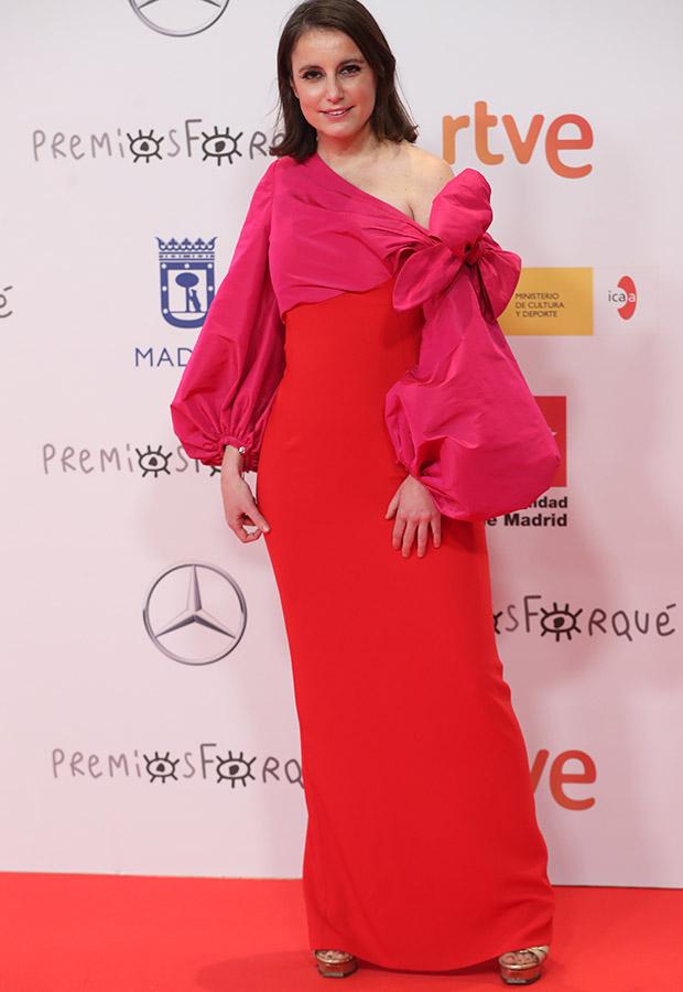Andrea Levy en los Premios Forqué 2021