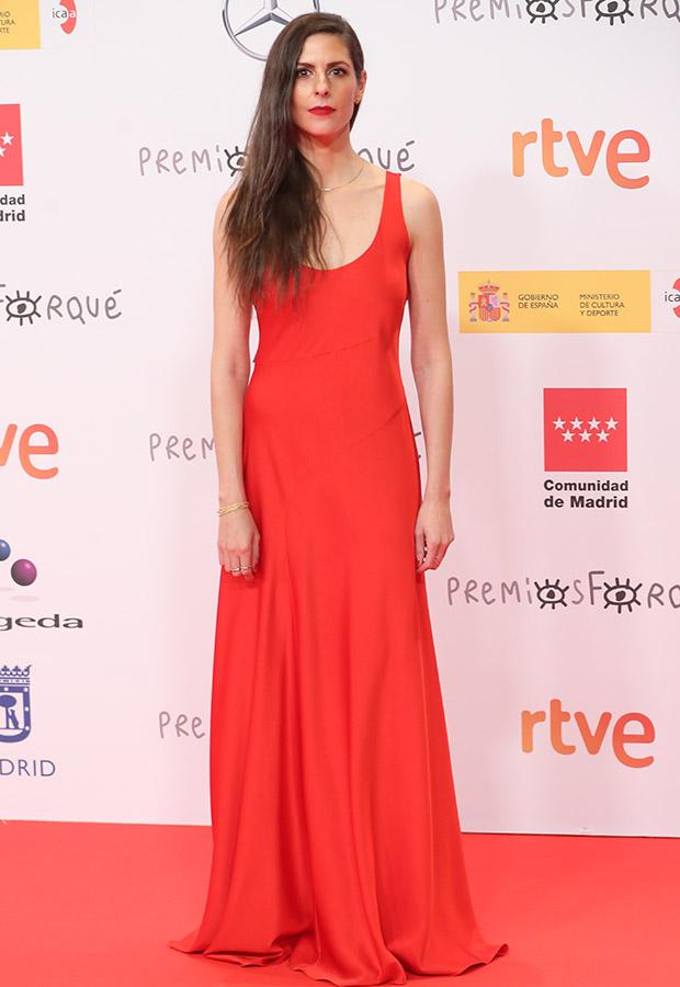 Bárbara Santacruz en los Premios Forqué 2021