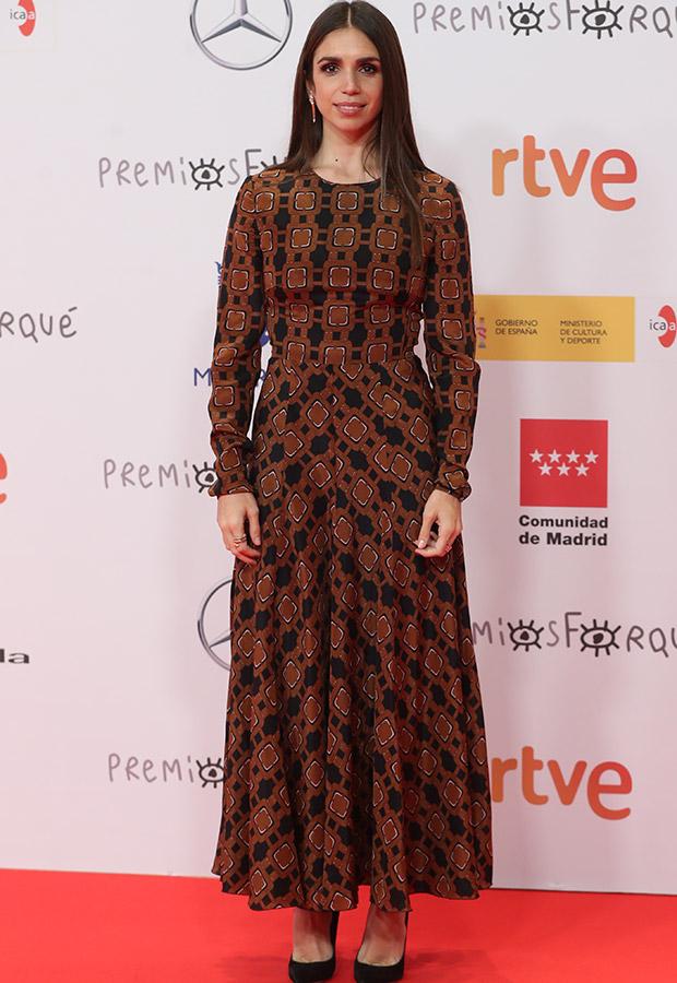 Elena Furiase en los Premios Forqué 2021