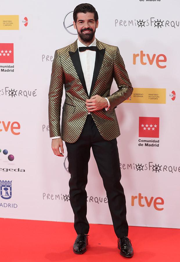 Miguel Angel Muñoz en los Premios Forqué 2021