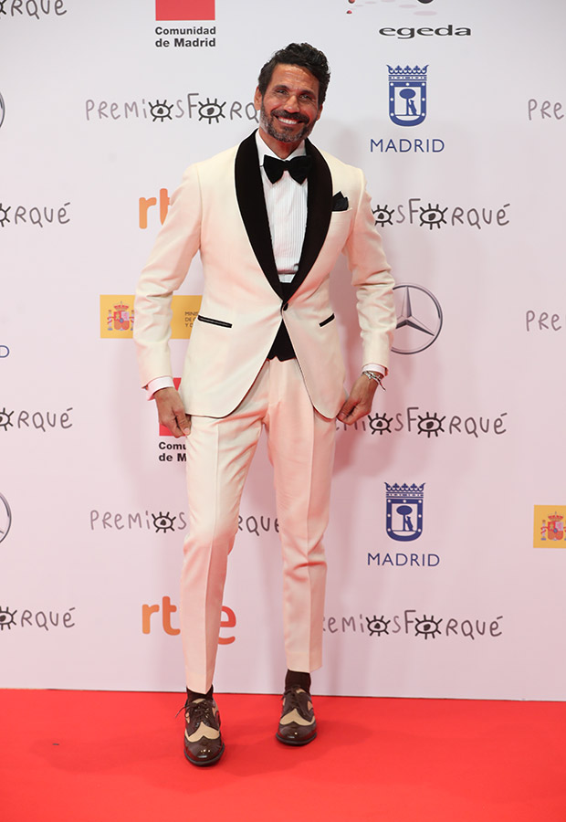 Óscar Higares en los Premios Forqué 2021