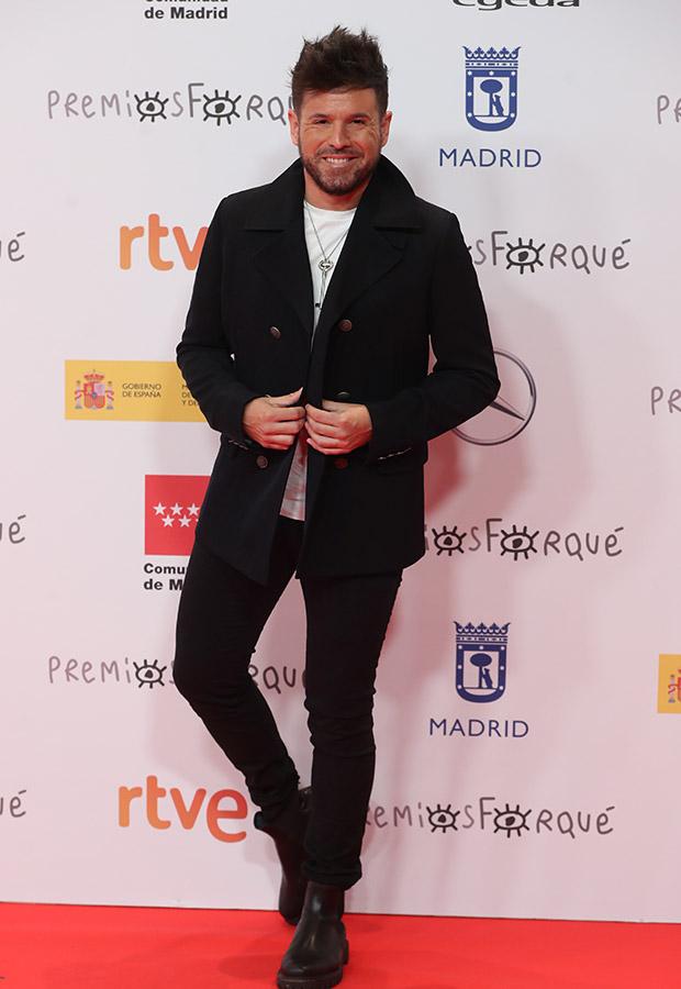 Pablo Lopez en los Premios Forqué 2021