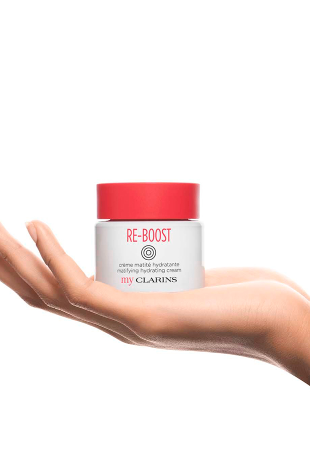 Productos matificantes RE-BOOST - My Clarins