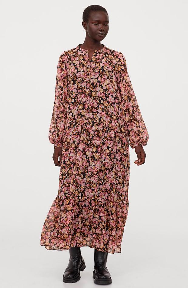 Vestido de flores - H&M segundas rebajas de las marcas low cost