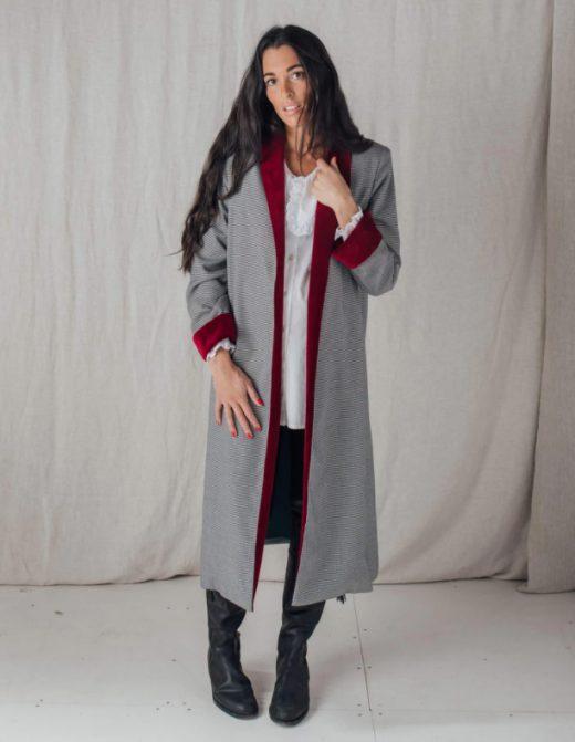 Abrigo largo de embarazada de Bombü