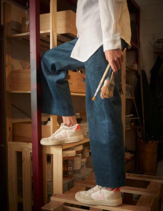 Pantalones de pana de embarazada de Bombü
