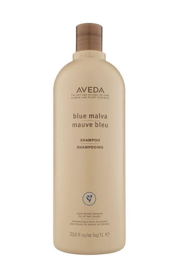 Blue malva de Aveda champús para rubias