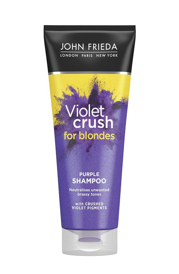 champús para rubias Violet Crush de John Frieda