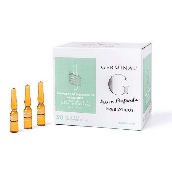 Ampollas acción profunda Prebióticos de Germinal