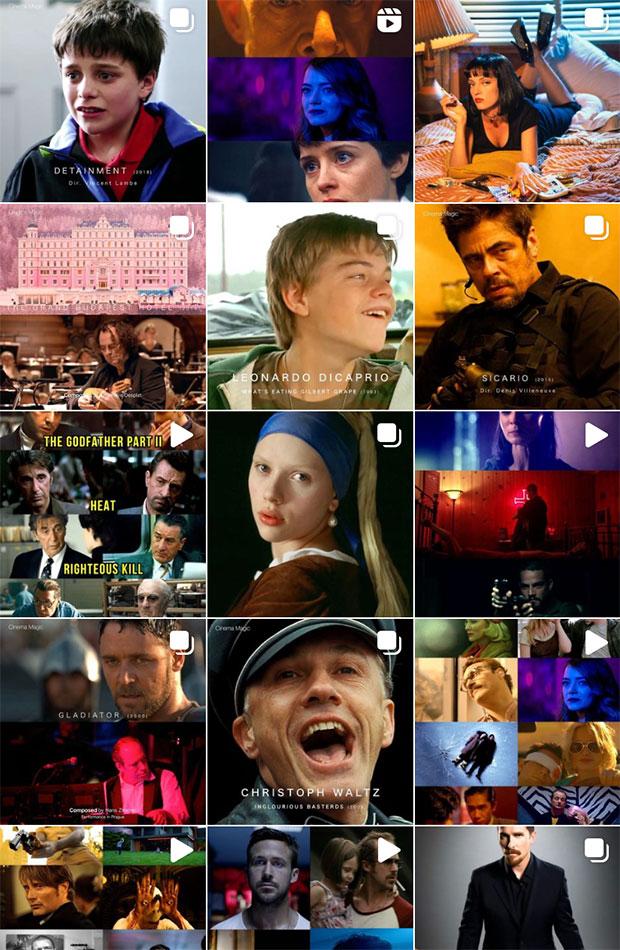 cinema.magic cuentas de instagram sobre cine y televisión