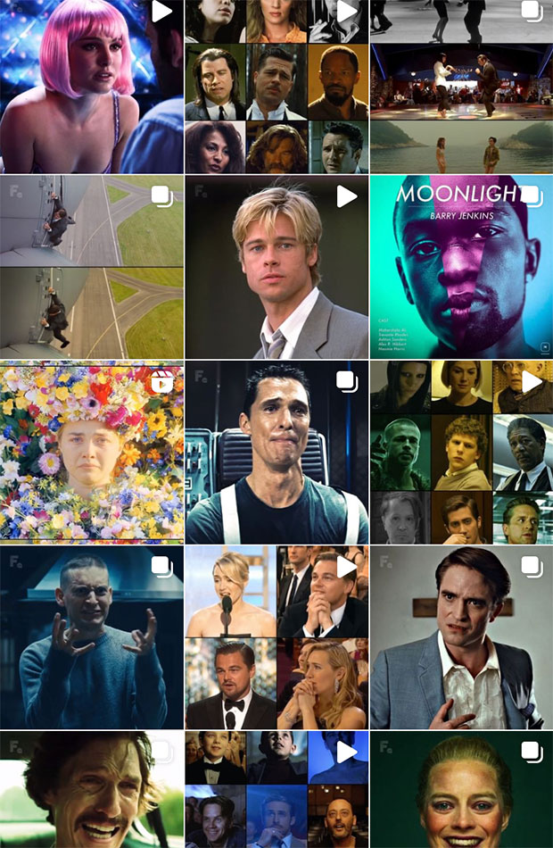 thefilmzone cuentas de instagram sobre cine y televisión