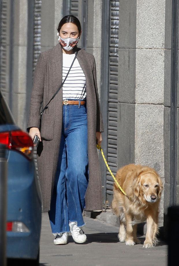 Tamara Falcó con pantalones vaqueros