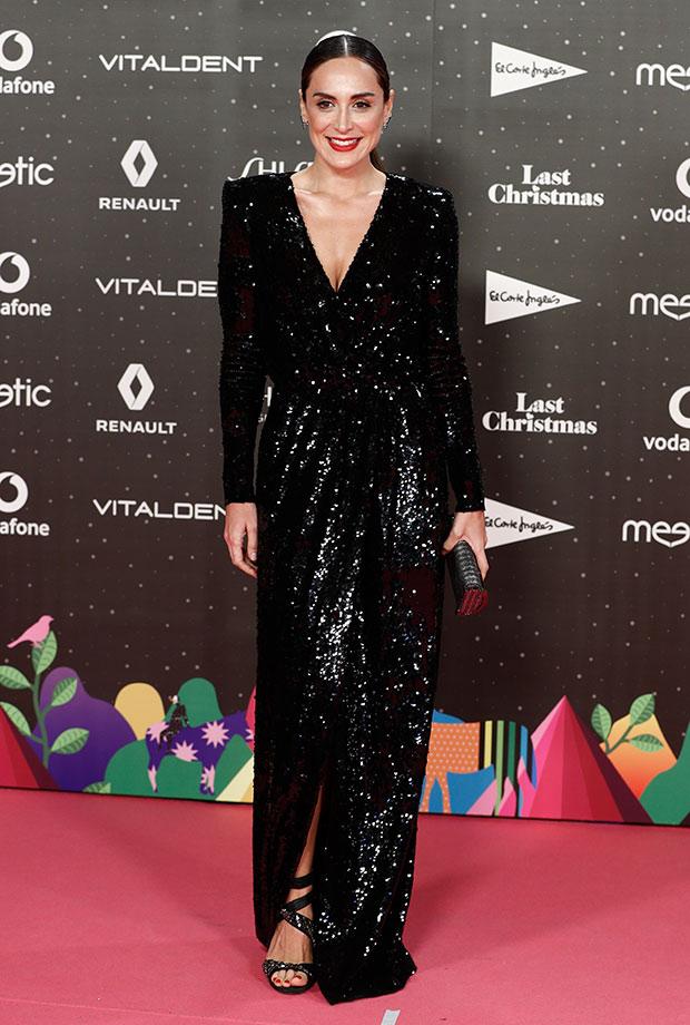 Tamara Falcó con vestido de lentejuelas