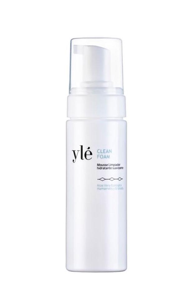 Clean foam de Ylé Cosmetics limpiadores en mousse