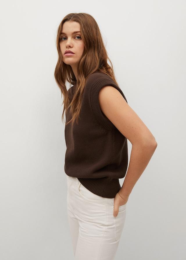 Chaleco marrón