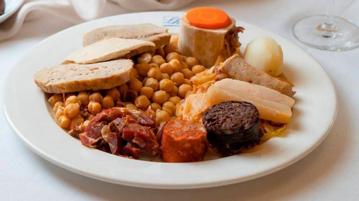 Mejores restaurantes de cocido de Madrid