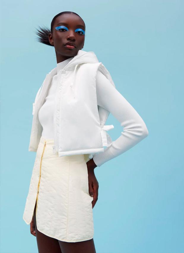 Minifalda de Zara
