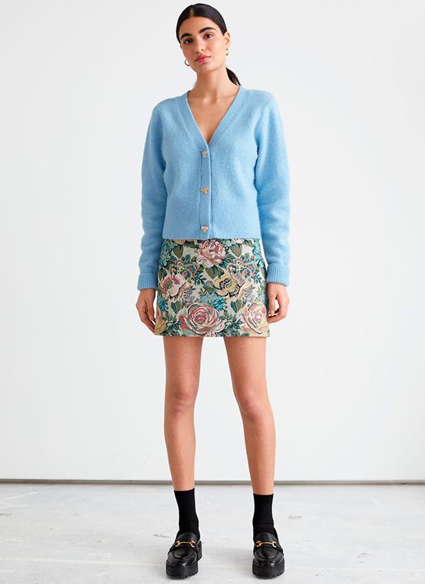 Minifalda de flores de & Other Stories