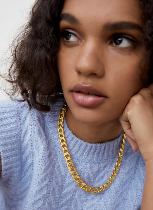 Collar de eslabones de Zara