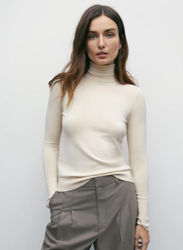 Jersey en crudo de Zara