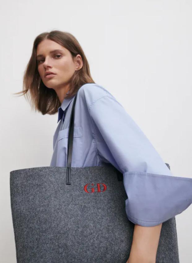 Bolso grande de los básicos de Zara