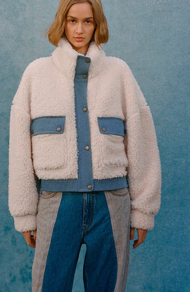 prendas con borreguito urban outfitters