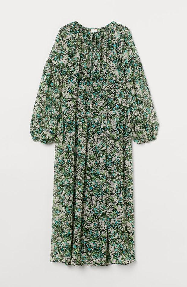 Vestido de flores - H&M prendas que nos favorecen