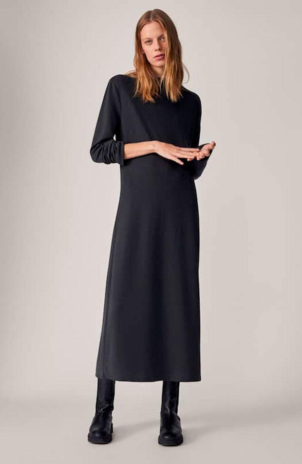 Vestido de punto - Massimo Dutti prendas que nos favorecen