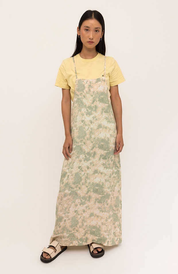 slip dress Vestido tie dye de It's Sosom