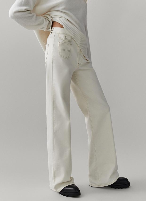Pantalón comfy en tonos claros