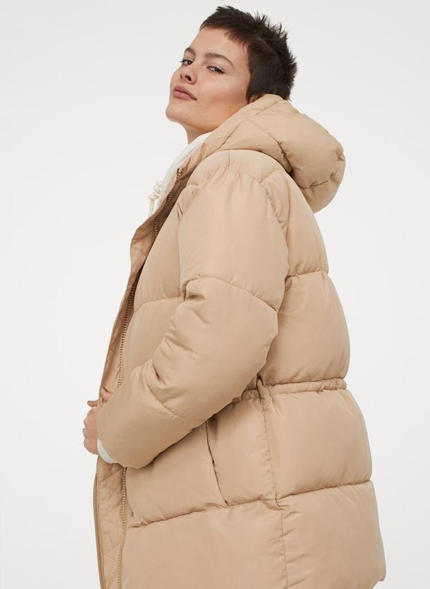 Abrigo puffy de H&M