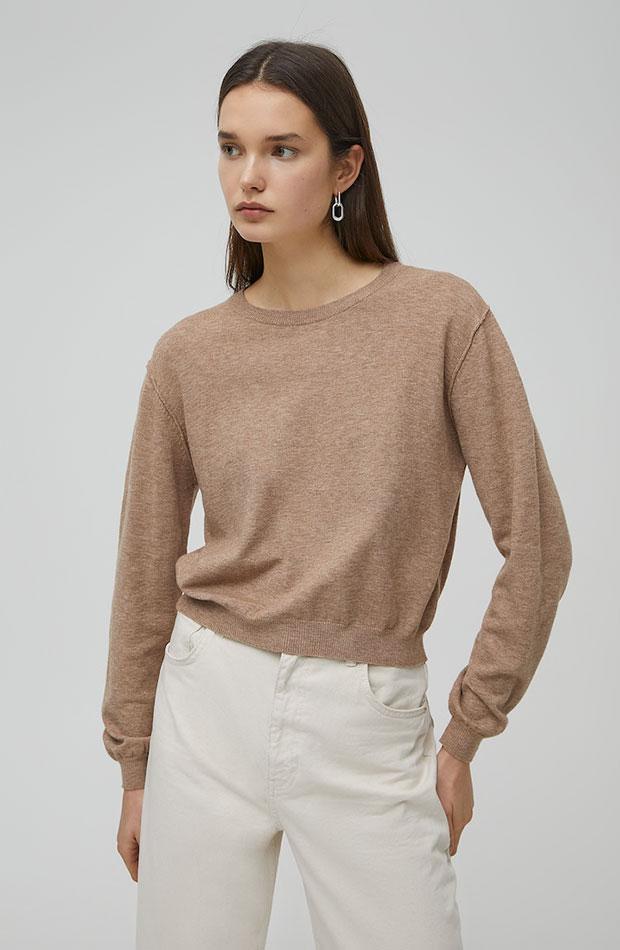 ropa para trabajar con estilo Jersey básico de Pull & Bear