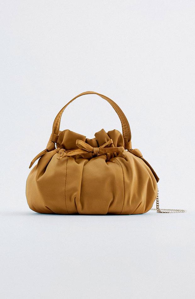últimas rebajas de Zara Bolso mini tipo saco