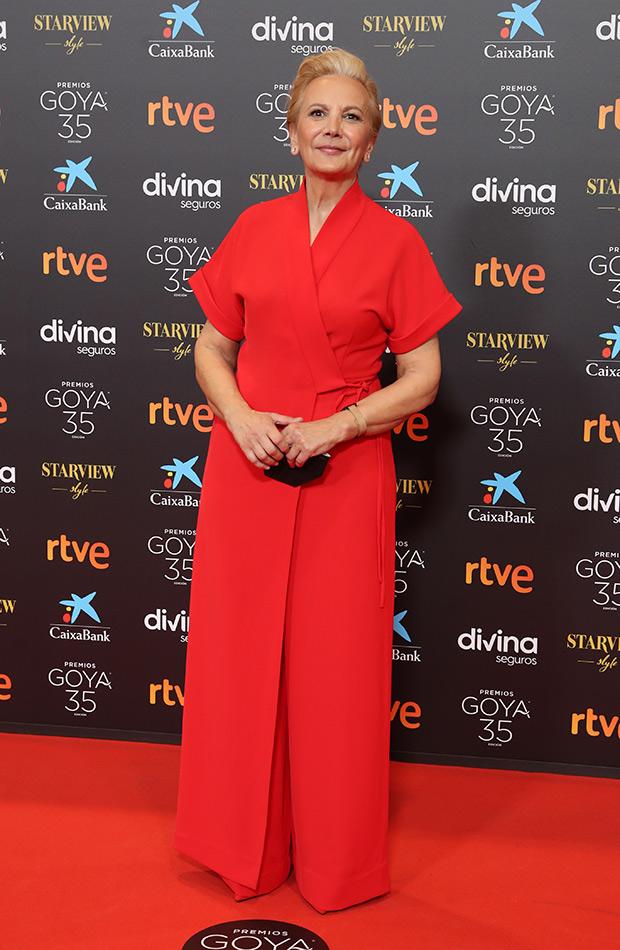Elena Irureta en los Premios Goya 2021