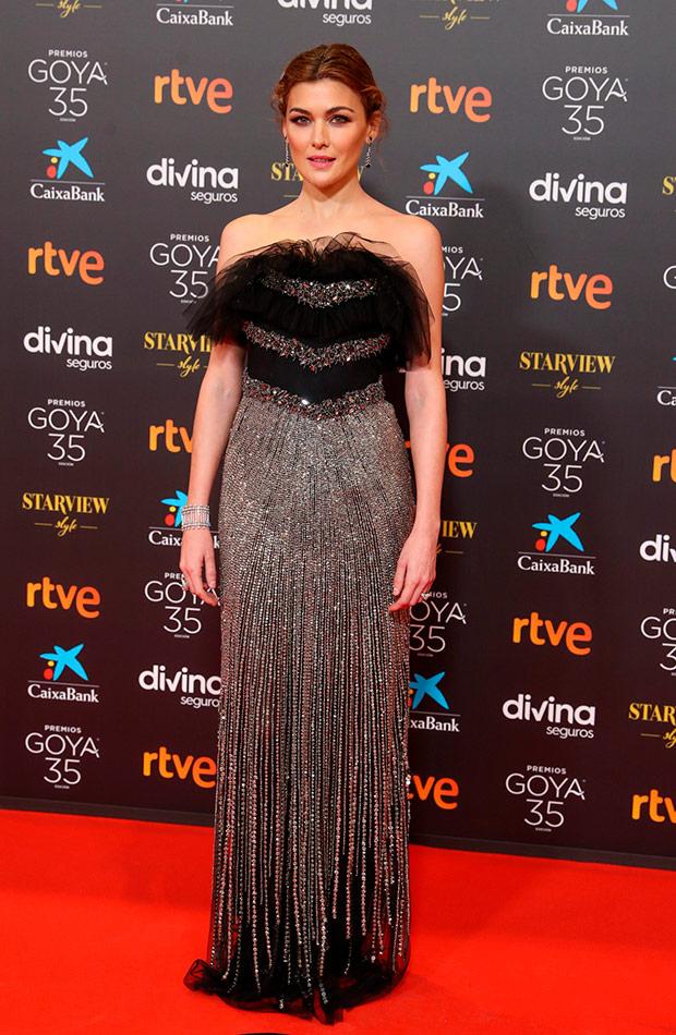 Marta Nieto en los Premios Goya 2021