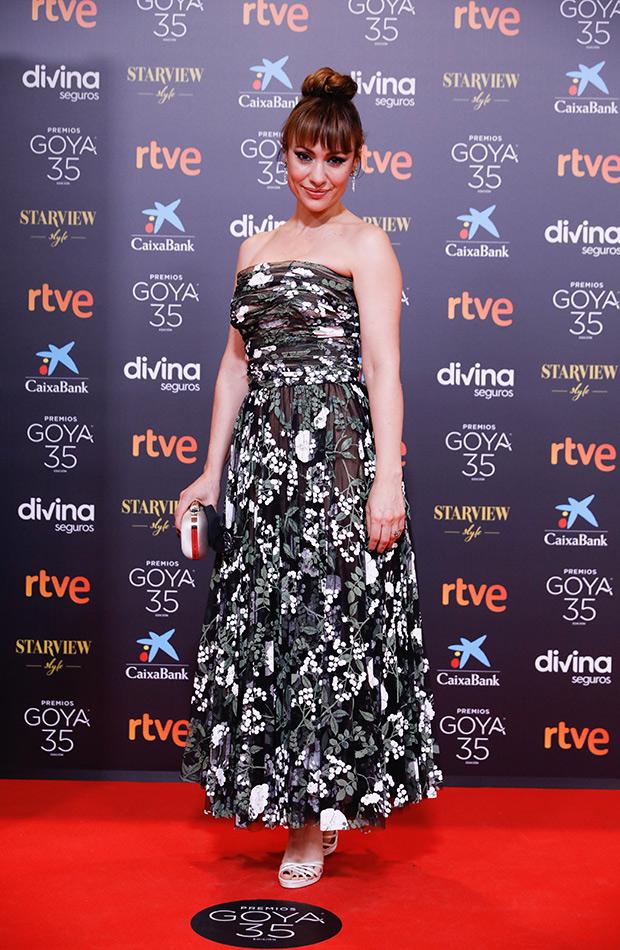 Verónica Verbeke en los Premios Goya 2021