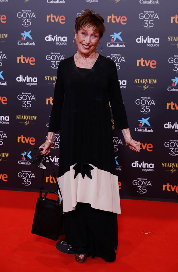 Verónica Forqué en los Premios Goya 2021