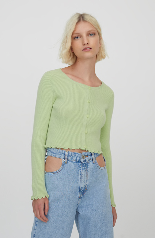Pull & Bear cárdigans cropped