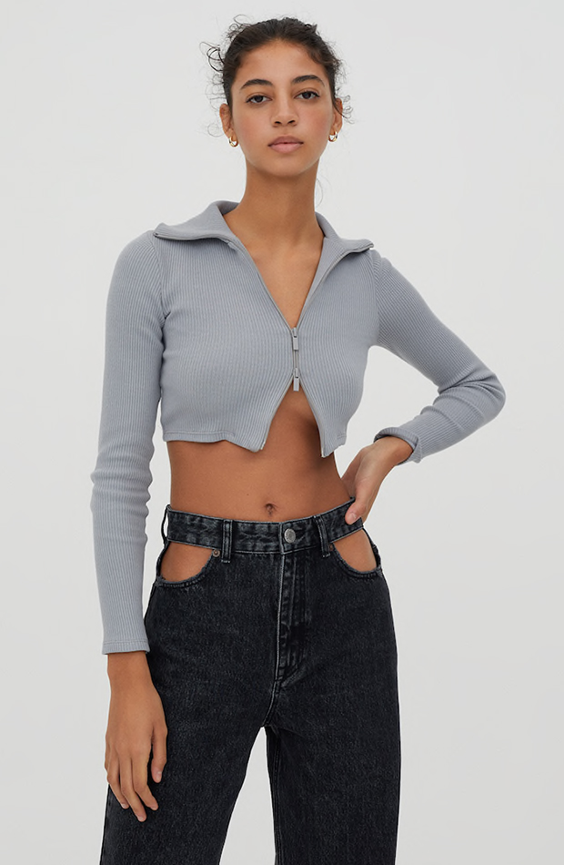 cárdigans cropped Pull & Bear