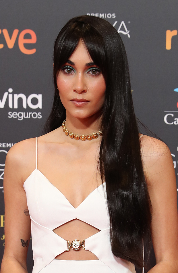 Aitana looks de belleza de la gala de los Goya 2021