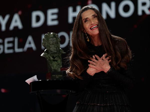 mejores momentos de la gala de los Goya 2021 angela molina